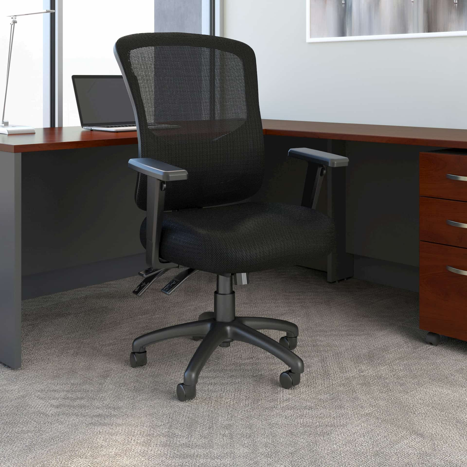 Bush Business Furniture office chair for work from home ergonomics