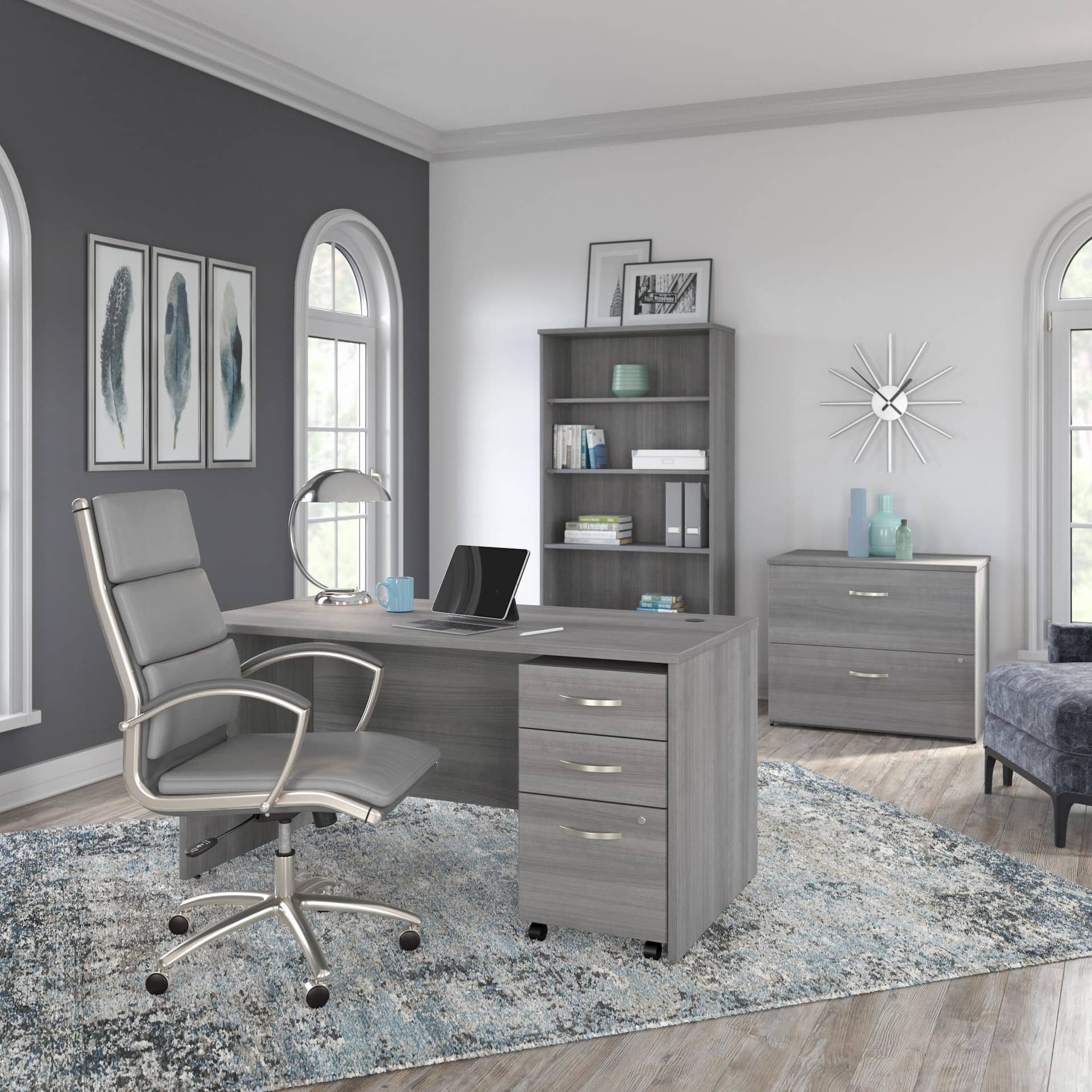 Bush Business Furniture home office set