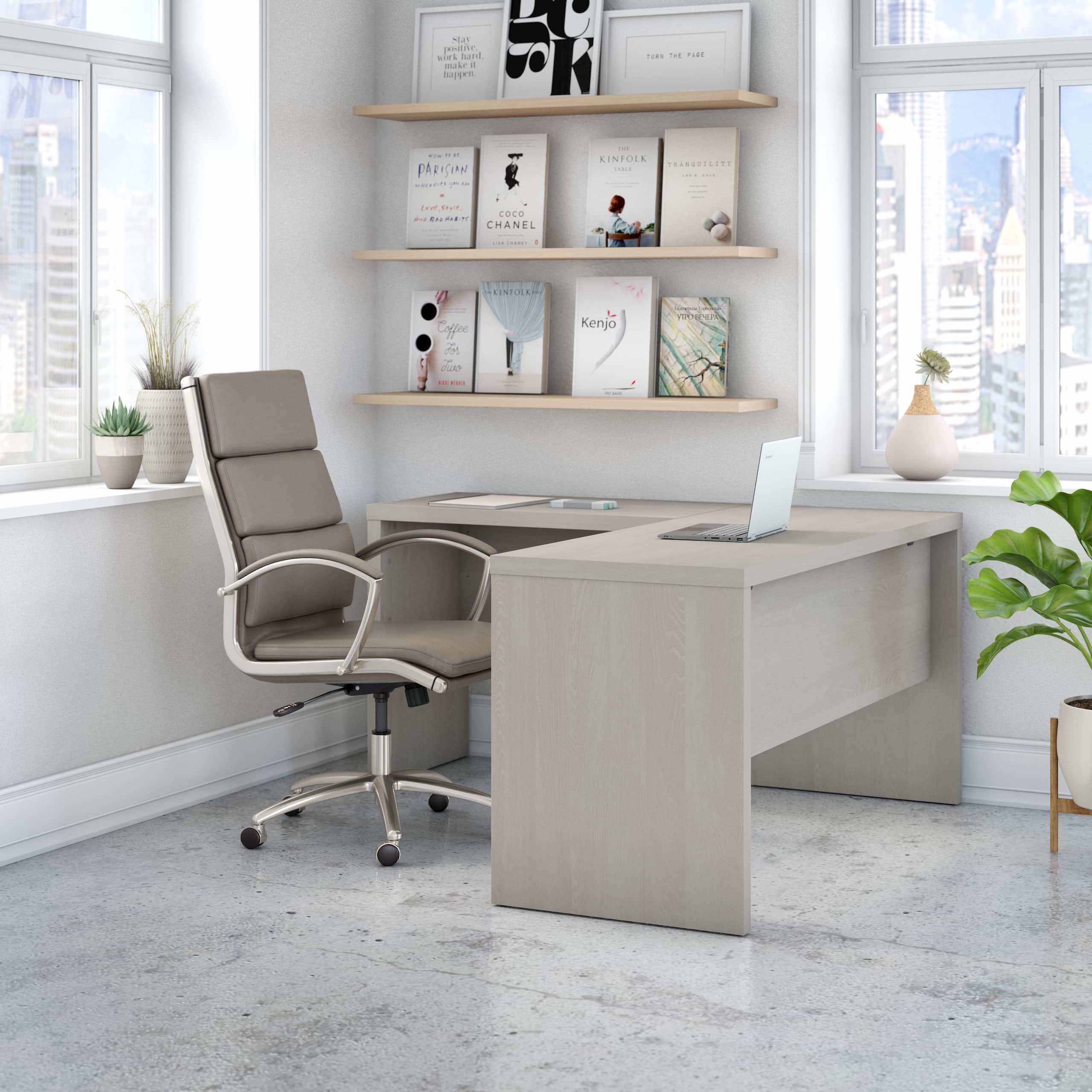Bush Business Furniture Echo home office collection