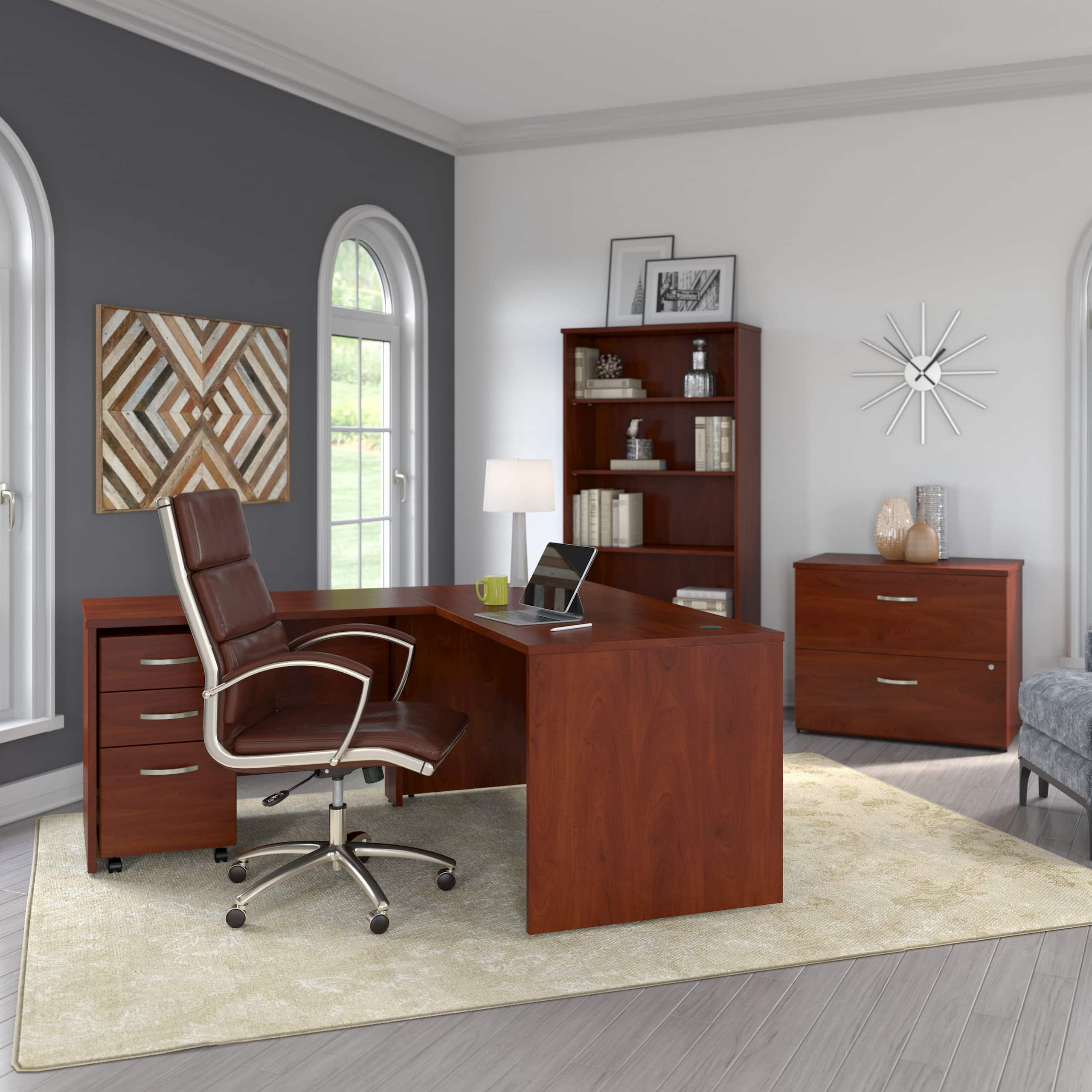 Bush Business Furniture Studio C home office collection
